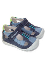 Sandale piele Hokide Albastru