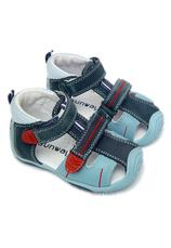 Sunway® Sandale piele Albastru