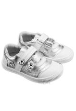 Hokide® Pantofi sport piele Alb Argintiu