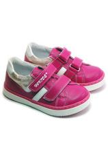 Hokide® Pantofi sport piele Fuxia 316