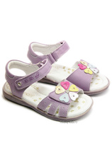 D.D.Step® Sandale piele Mov