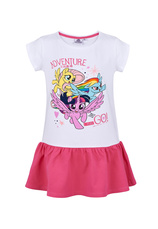 My Little Pony® Rochie Alb print 1740061